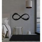 Personalised Infinity Loop Wall Art in Situ