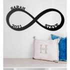 Lovers Infinity Loop Wall Art