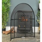 Inside Of Traditional Black Arched Spark Guard