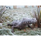 Mara River Crocodile Wrought Iron Garden Sculpture