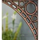 Iron Bridge Small Antique Copper Finish Close Up