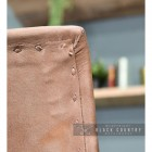 Close-up of the Natural Brown Buffalo Leather