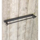 Antique Iron Scroll ended Towel Rail