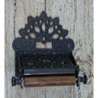 Iron Victorian Toilet Roll Holder