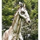 Life-Like Horse Garden Sculpture