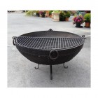 Kadai Bowl Grill Finished in Black
