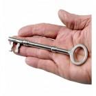 Bright Chrome Rim Locks With A Set Of Two Keys
