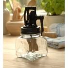 Dazey Glass Jar Butter Churns