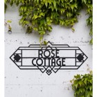Large Art Deco House Name Sign