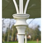 Close-up of the Pillars Posts on the Gazebo