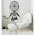 Dream Catcher Steel Wall Art in a Modern Sitting Room
