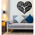 Tree Heart Wall Art in Situ in the Home