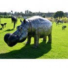 Large Hippo Sculpture
