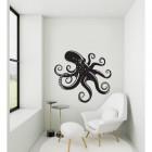 Octopus Wall Art in a Modern Sitting Room