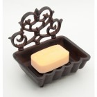 Ornate Square Wall Mounted Soap Dish