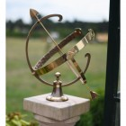 "Large ""Profatius"" Armillary in Antique Bronze"