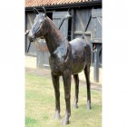 Large Standing Horse Sculpture