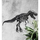 Wall Art with Large T-Rex