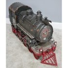 Vintage Steam Train Finished in a Rustic Green