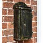 Wall Mounted Antique bronze finish post box
