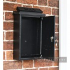 """Liver Bird"" Wall Mounted Post Box with Front Opening Door"