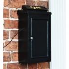 Simplistic Post Box Mounted on Wall