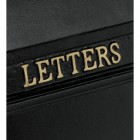 Detailed image of Hand Painted Gold Letters