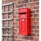'Original Reproduction' Red Elizabeth Regina Post Box