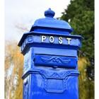 Close up of 'POST' Camden Post Box