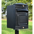 The Rear Opening Sheffield Post Box & Stand