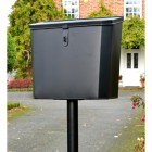 """""""Billingsgate"""" Large Secure Parcel Box with Black Clasp"""