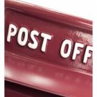 Slim King George Post Box - Cherry Pie