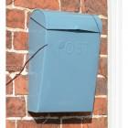 Light Blue contemporary post box
