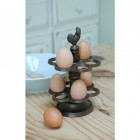 Millicent Meg Cast Iron Egg Holder