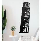 Leaning Tower of Pisa Wall Art in Situ