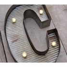 Letter C Wall Light
