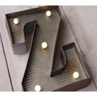 Letter Z Wall Light