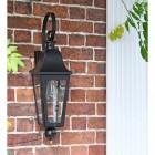 'Cleobury' Wall Lantern in situ
