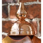 Detailed image of copper finial