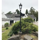 Lamp post directional sign accessories