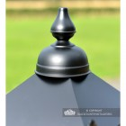 Close-up of the Finial on the Lantern's Lid