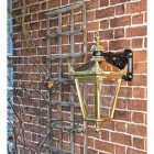Polished Brass Wall Lantern