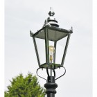 Victorian Lantern Created in a Polished Nickel