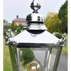 Victorian Lantern in Polished Nickel