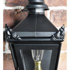 Front view of Harrogate Wall Lantern in Full