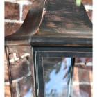 Close up of framework and pane