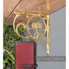 """""""Lotus Flower"""" Shelf Bracket in Situ"""