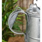 Close-up of the Handle on the Galvanised Watering Can