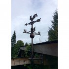 "Customer Photo of Rooster Weathervane sent in by ""Mark Honeyball"""