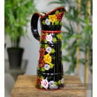 Traditional Narrowboat Jug Finished in Black